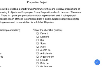 French Preposition Project