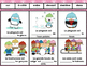 French Prepositions Winter Bundle- Flashcards, Writing, Reading, Game, etc.