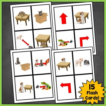 French Prepositions of Location Flashcards