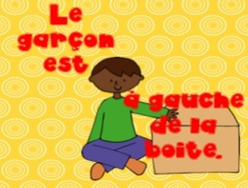 French Prepositons PowerPoint: Ou est le Garcon?
