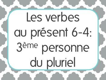 French Present Tense Lesson 4: 3rd person plural verbs -er,-ir,-re+irregular