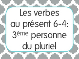 French Present Tense Lesson 4: 3rd person plural verbs -er,-ir,-re+irregular