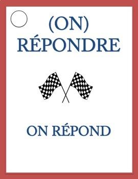 French Present Tense REGULAR VERB RACE GAME