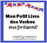 French Present Tense Verbs Flip Book