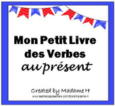 French Present Tense Verbs Flip Book