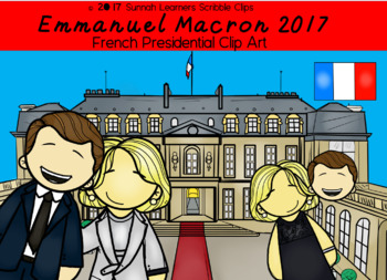 French Presidential Election Clip art