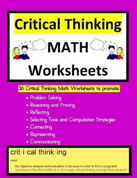 math critical thinking