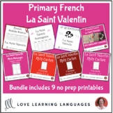 French Primary Valentine's Day Resource BUNDLE - La Saint
