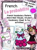 La Probabilité Bundle + Visuals- French Probability