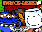 Comment faire du chocolat chaud ❄ French Procedural Writing & Sequencing