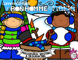 Comment faire un bonhomme de neige ❄ French Procedural Writing & Sequencing