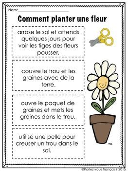 French Procedural Writing- l'écriture procédurale
