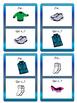 Les Vêtements- J'ai/Qui a ? Card Game-Clothing Vocab