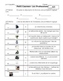 French Profession Quiz