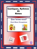 French Profession Words - French Rap-like Musical Chant with Exercises and Mp3