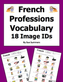French Professions 18 Vocabulary Image IDs