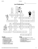 French - Professions - Crossword