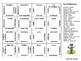 French Professions Matching Squares Puzzle - Les Professions