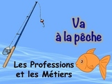 French Professions Vocabulary Game (Va a la pêche-Go Fish)
