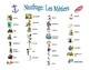 French Professions Vocabulary Speaking/Writing  Activity (Naufrage)
