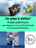 """French: Voyages  """"Un pays à visiter!"""", Brochure publicitaire"""