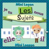 French Pronoun Booklet