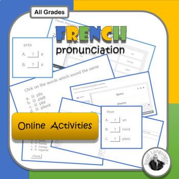 French Pronunciation Activities: Online Resources
