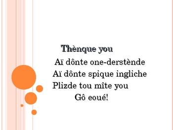 French Pronunciation Fun