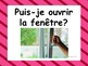 French: Puis-je ....?, classroom prompts, Core and French Immersion