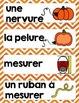 French Pumpkin science unit/ Les citrouilles {sciences}