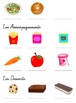 """French """"Qu'est-ce qu'on mange?"""" PowerPoint Notes (school lunch foods)"""