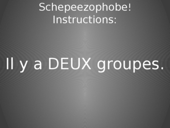 French Question Review Game- Memory with a Twist