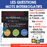 French Question Word - Les mots interrogatifs - GAME REVIEW - Flyswatter game