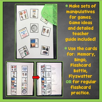 French Question Words Flashcards, Interrogatives Interactive Notebook Flashcards