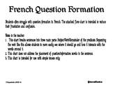 French Questions Flowchart