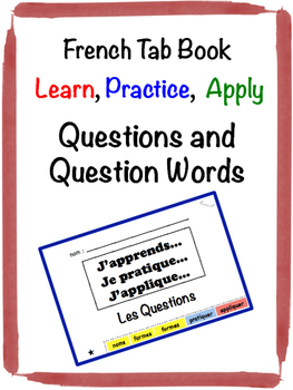 French Questions Tab Book