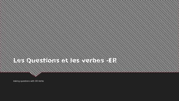 French Questions with ER Verbs