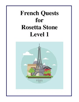 French Quests for Rosetta Stone - Level 1 Tests