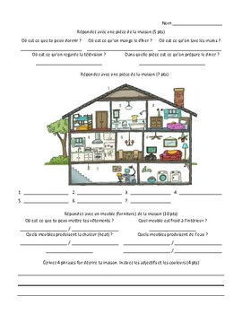 French - Quiz - House Chores Past Tense