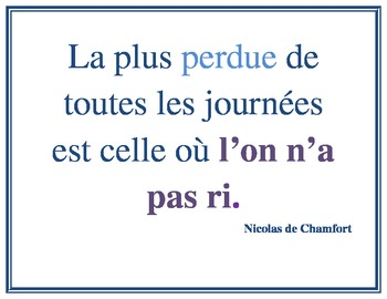 French Quotations