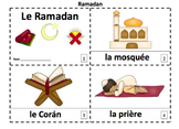 French Ramadan 2 Emergent Reader Booklets