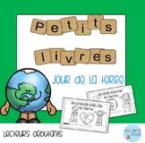 French Reader Earth Day mini-books/Petits livres {Jour de la Terre}