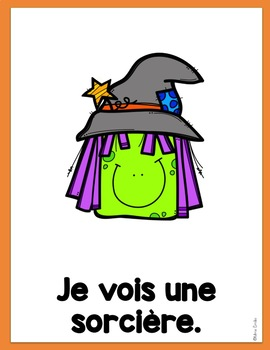 French Reader Halloween Mini Book Petit Livre