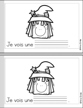 French Reader Halloween mini-book/Petit livre {Halloween}