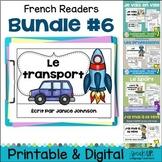 French Readers {Bundled Set 6} en français + BOOM™ Versions with Audio
