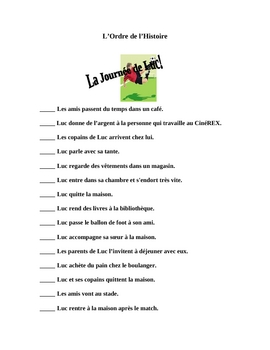 French Reading Activity Focusing on Telling Time