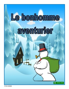 French Reading Comprehension Activity (Winter)