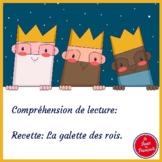 French Reading Comprehension/Epiphany cake recipe/Recette de la galette des rois