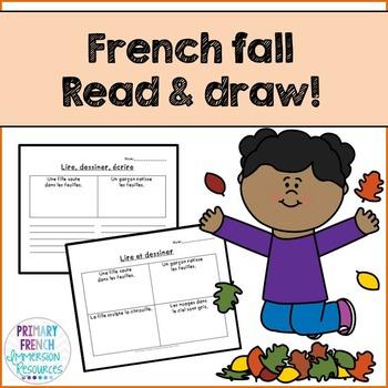 French - Reading Comprehension FALL - La compréhension de