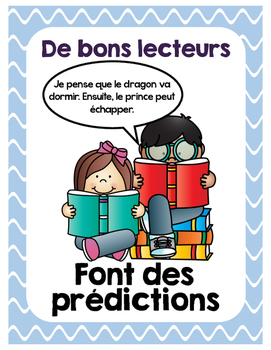French Reading Comprehension Posters
